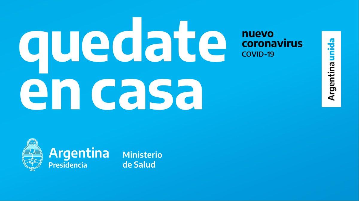 El Presidente extendió la cuarentena obligatoria para todo el país hasta el 26 de abril
