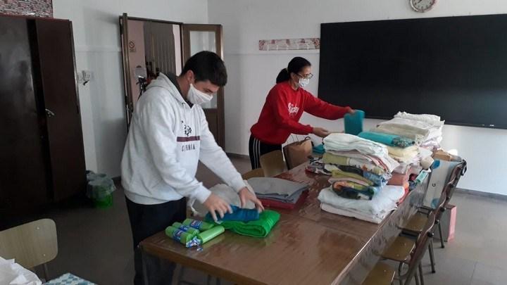 Avellaneda Solidaria: ya se reciben importantes donaciones de ropa blanca