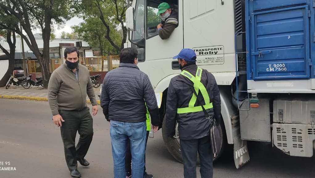 Reconquista amplió controles de tránsito en el marco de la implementación del escudo sanitario