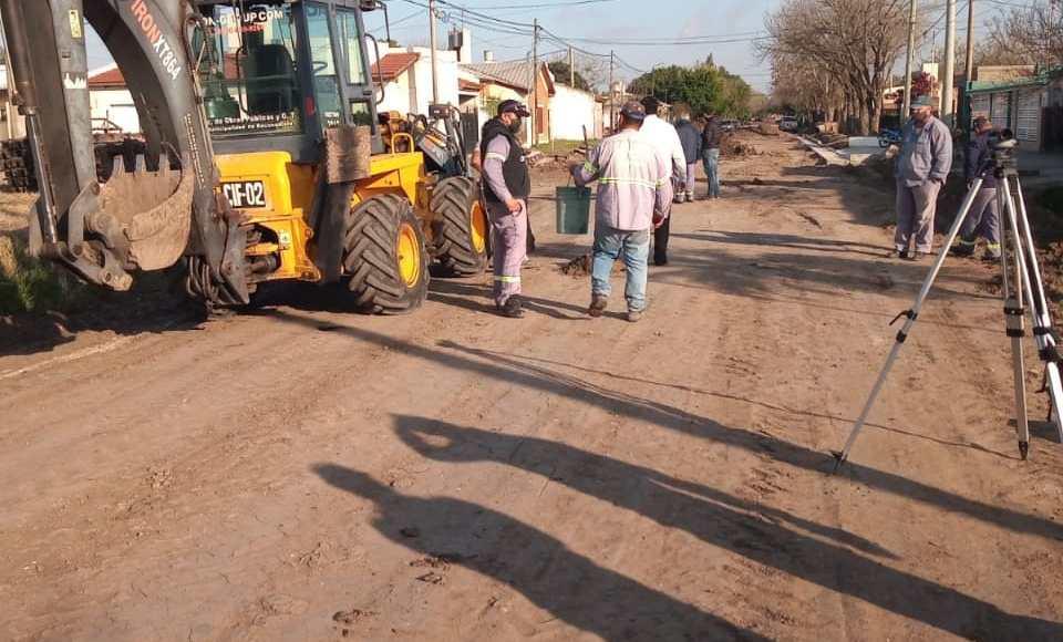 Reconquista intensifica obras en distintos sectores de la ciudad
