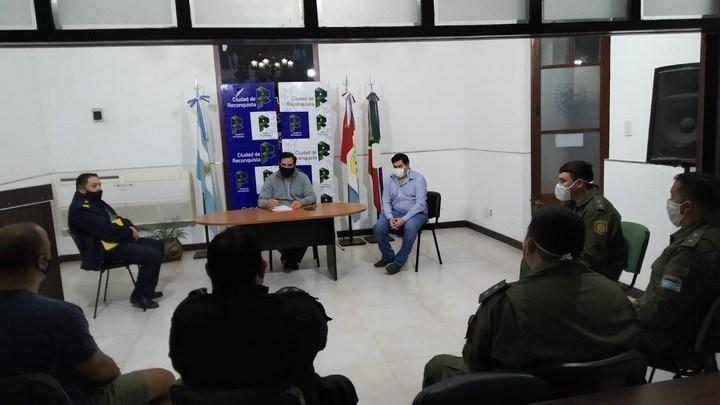 La Municipalidad de Reconquista trabaja para para brindar mayor seguridad a los vecinos