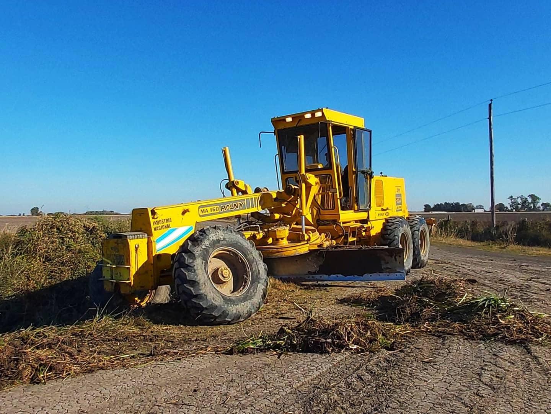 Malabrigo: el municipio realiza trabajos en el sector rural