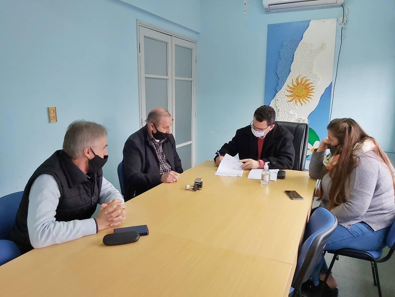 El Gobierno de Malabrigo entregó aportes por mas de $100.000 a Bomberos Volutarios