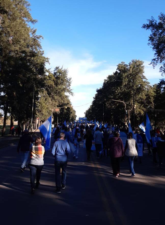 El pueblo de Avellaneda y Reconquista se unió en reclamo a las políticas del Gobierno