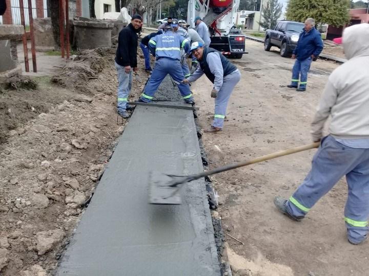 En Reconquista ejecutan obras y servicios en distintos puntos de la ciudad