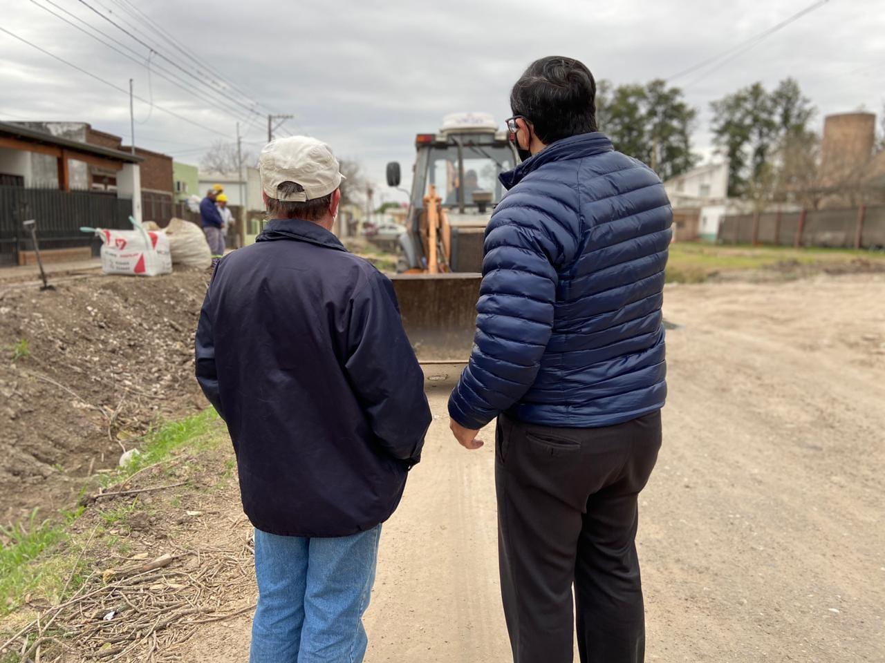 Reconquista avanza con el plan de obras de infraestructura