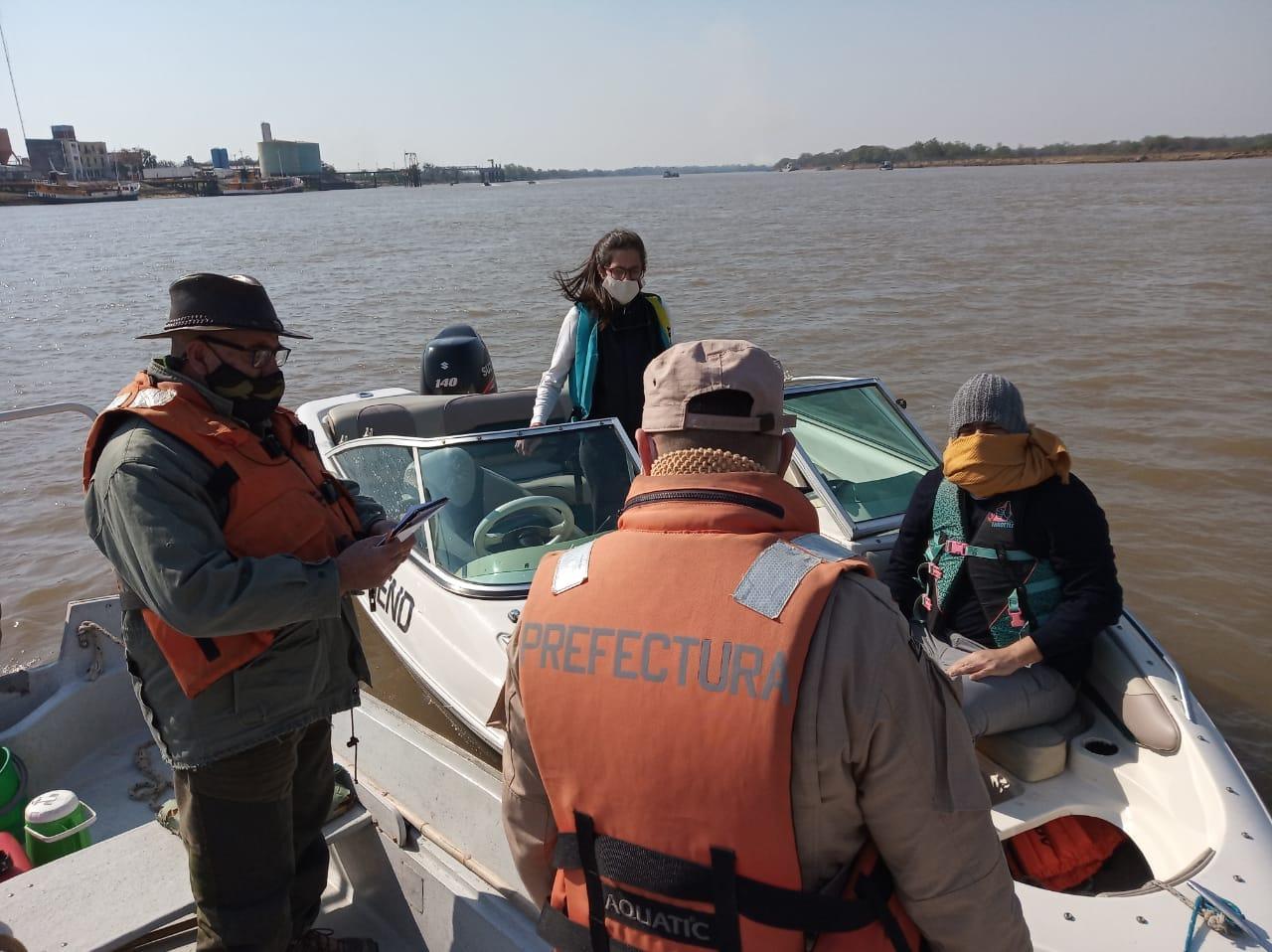Control de la actividad pesquera en aguas del Distrito Reconquista
