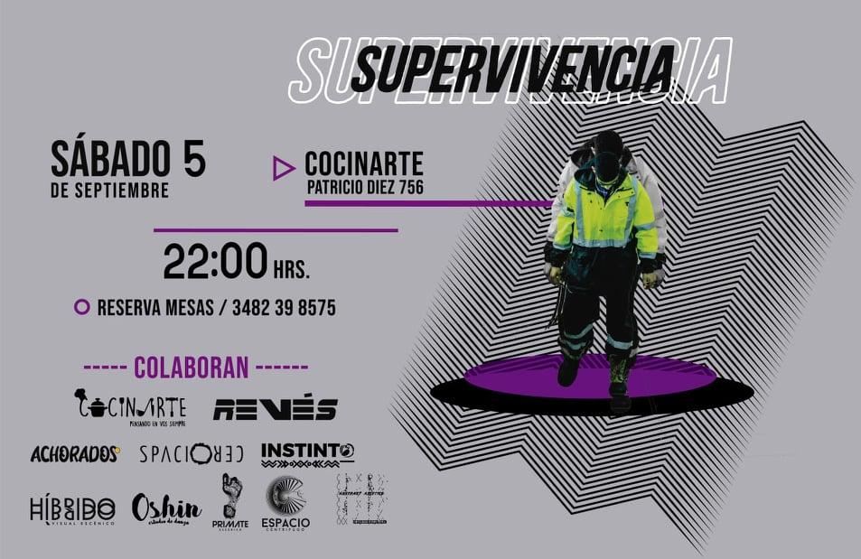 «Supervivencia»: danza y teatro en Reconquista
