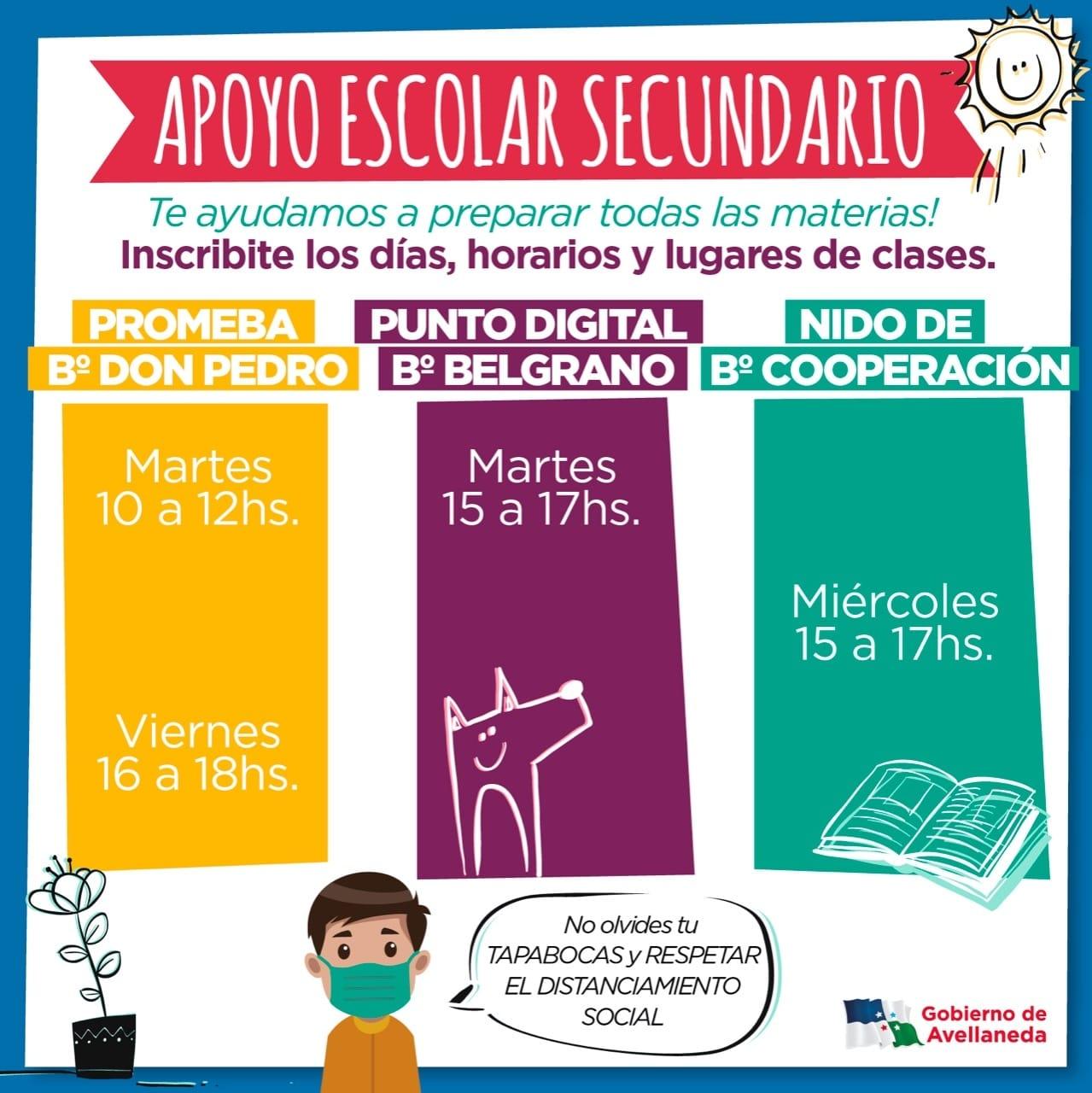 Apoyo Escolar Secundario