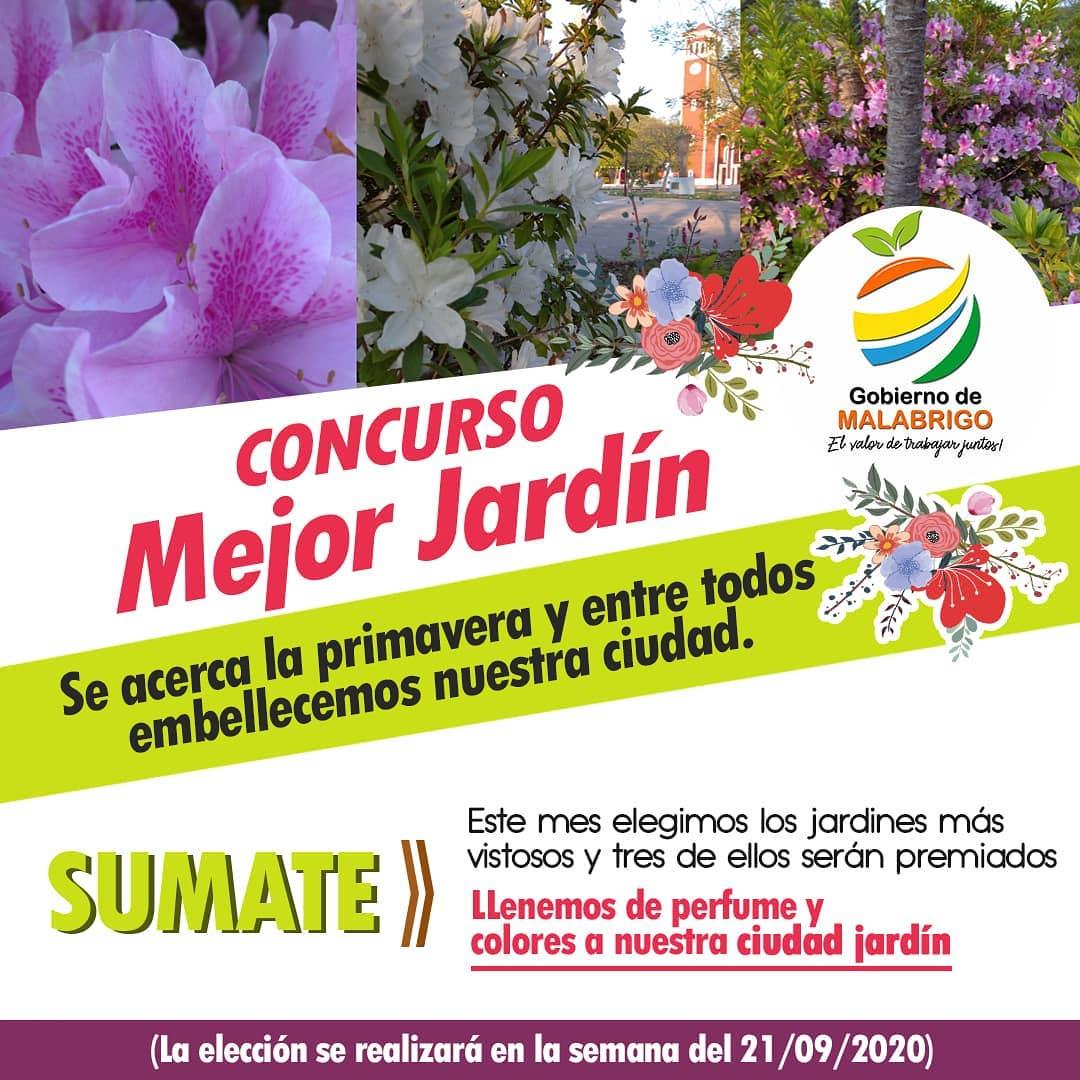 Malabrigo recibe la Primavera con el concurso «Mejor Jardín»