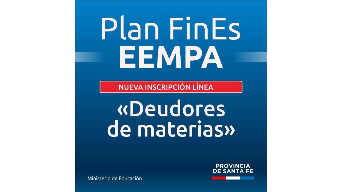 Convocan a participar de una nueva instancia del Plan Fines 2020