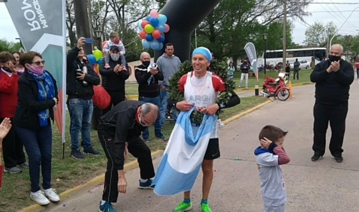 El atleta de Romang completó exitosamente la Maratón de Londres