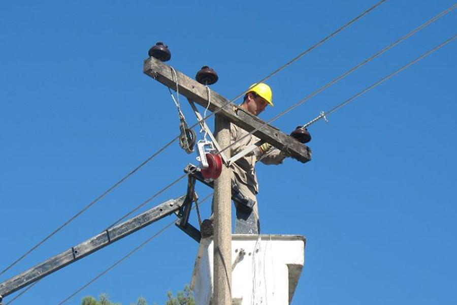 Este martes, varios barrios de Reconquista están sin energía eléctrica