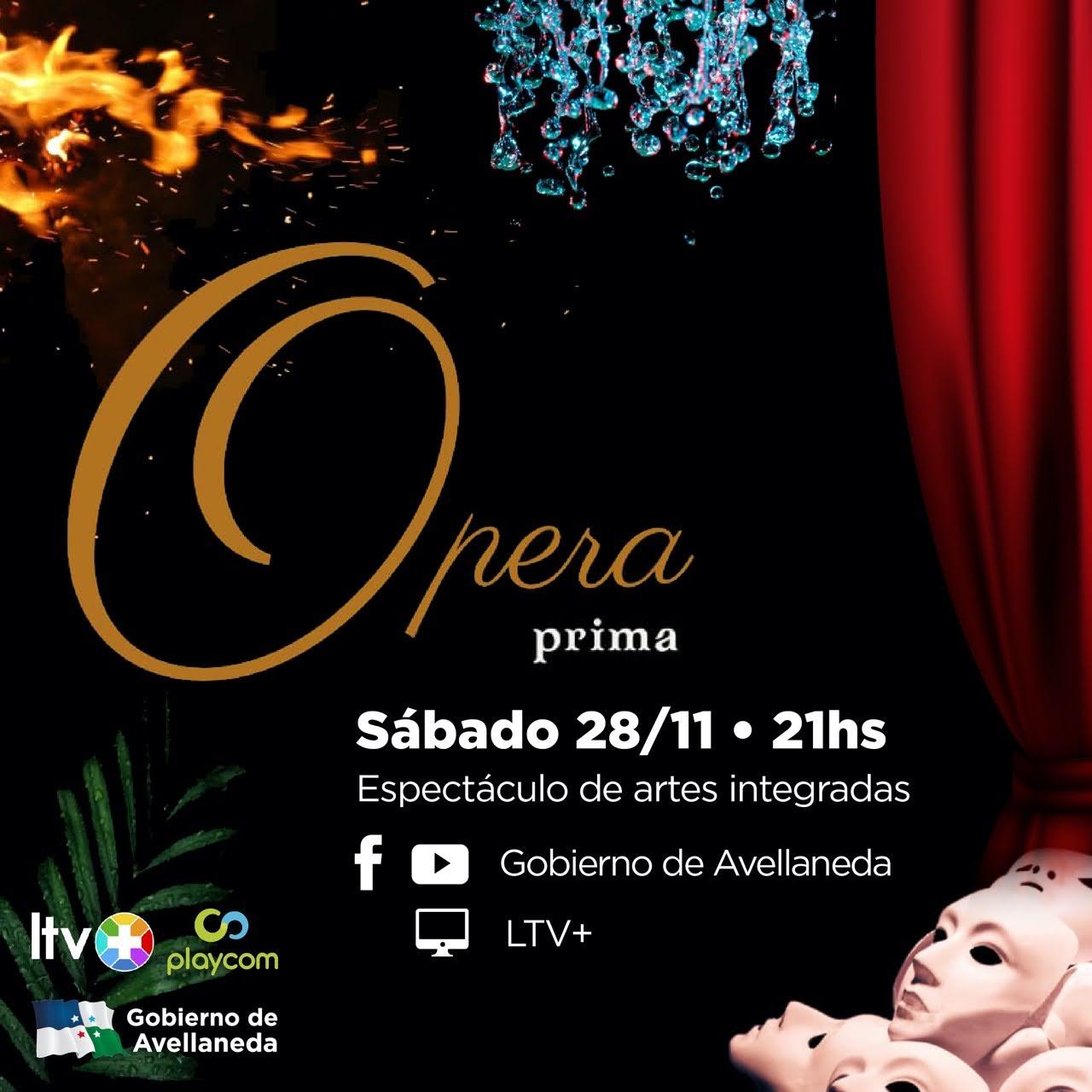 Avellaneda presenta «Ópera Prima»