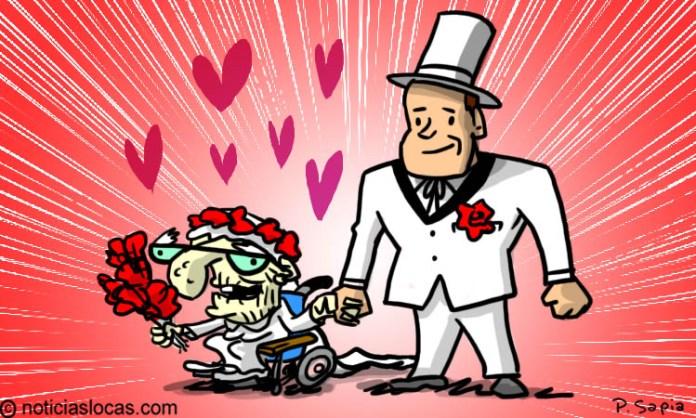 Se casó diez veces y no piensa detenerse hasta encontrar al hombre perfecto