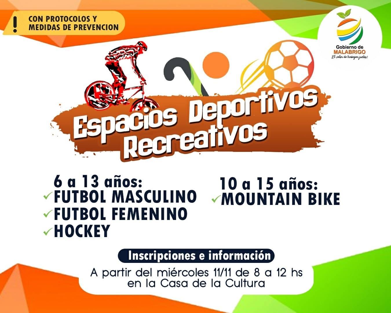 Malabrigo: Espacios Deportivos Recreativos
