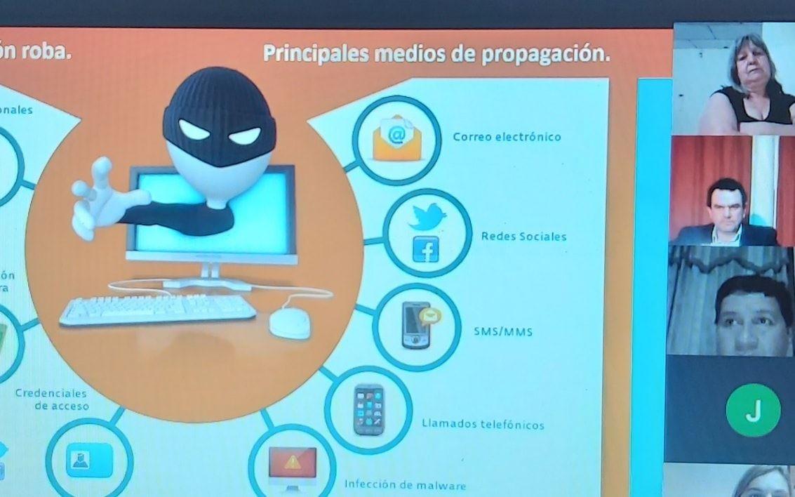 Malabrigo: se realizó la capacitación sobre Ciberestafas y Protección de Datos Personales