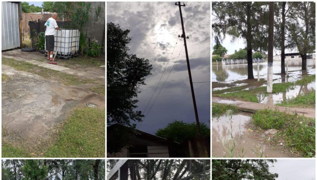 Datos de lluvia en nuestra región
