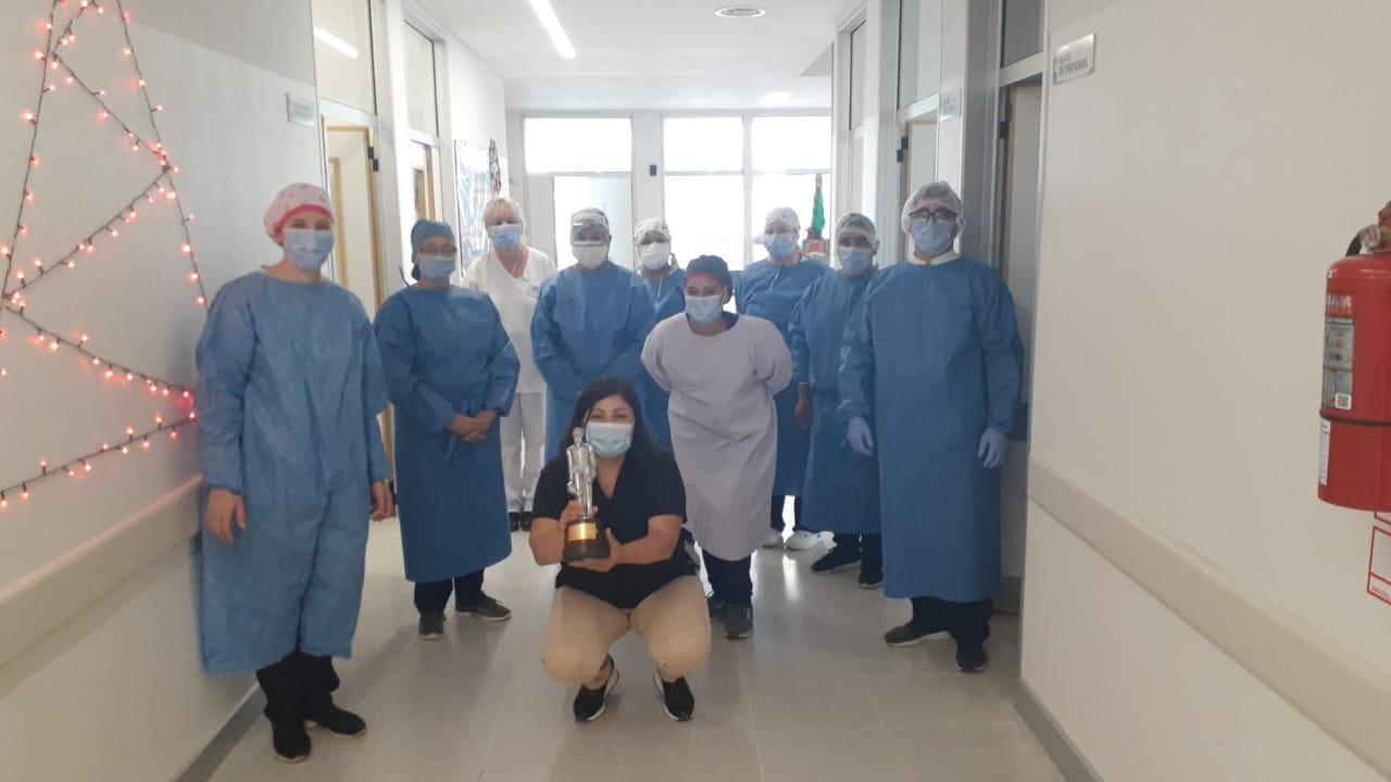 Premiación a personal de Salud Pública por su lucha contra el COVID – 19