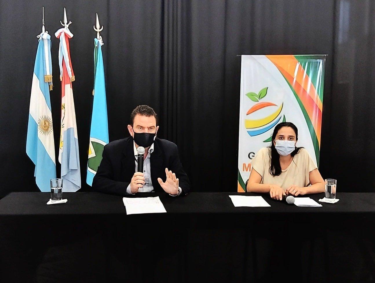 Comunicación oficial de Defensa Civil Malabrigo