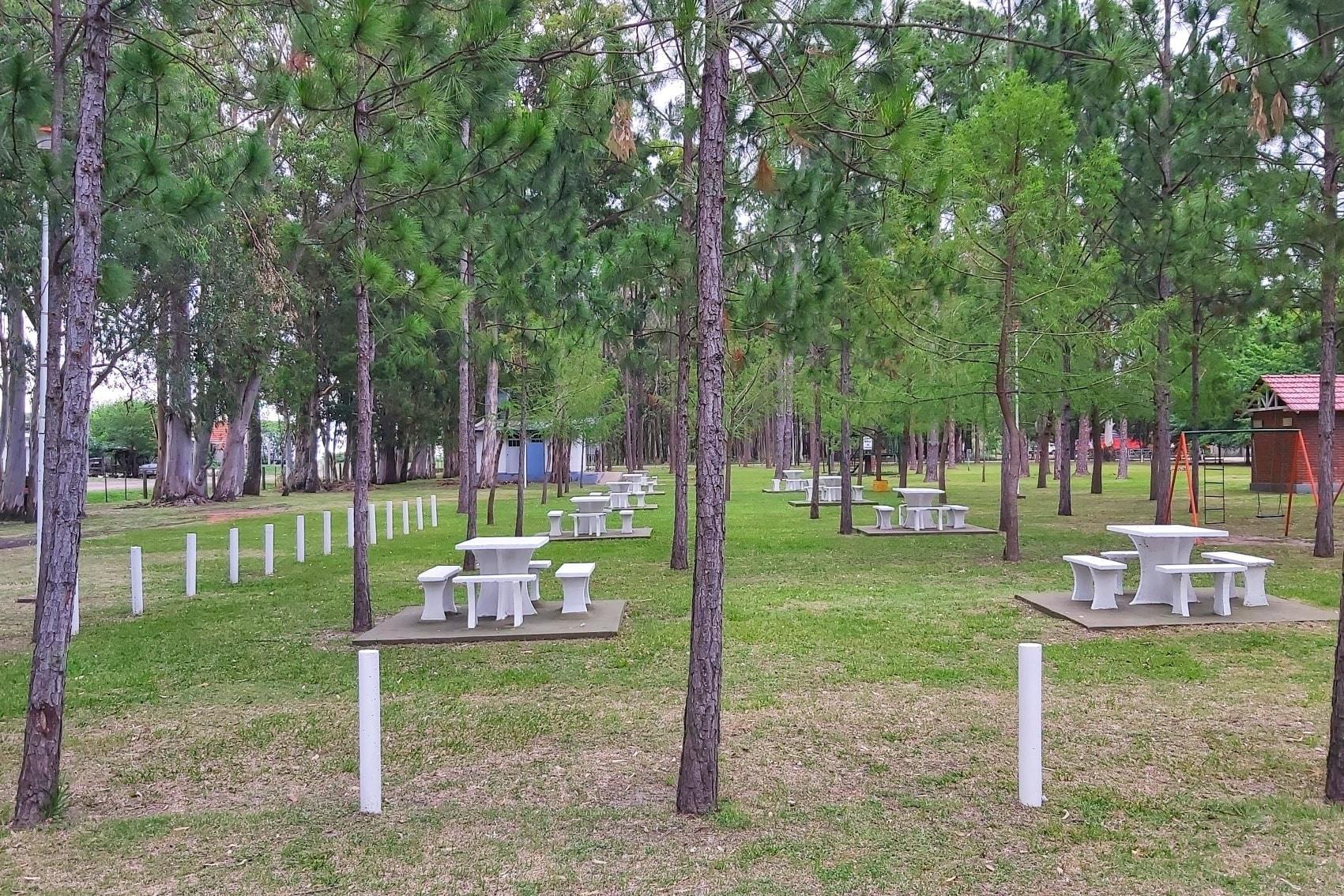 Malabrigo: Parque Los Pinos está listo para poder usarlo