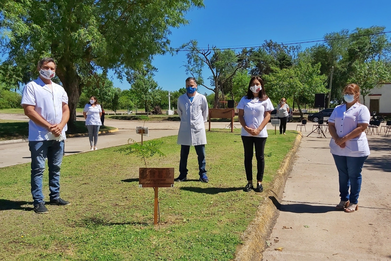 Se realizó el cierre del proyecto «Un árbol…un legado para la humanidad»