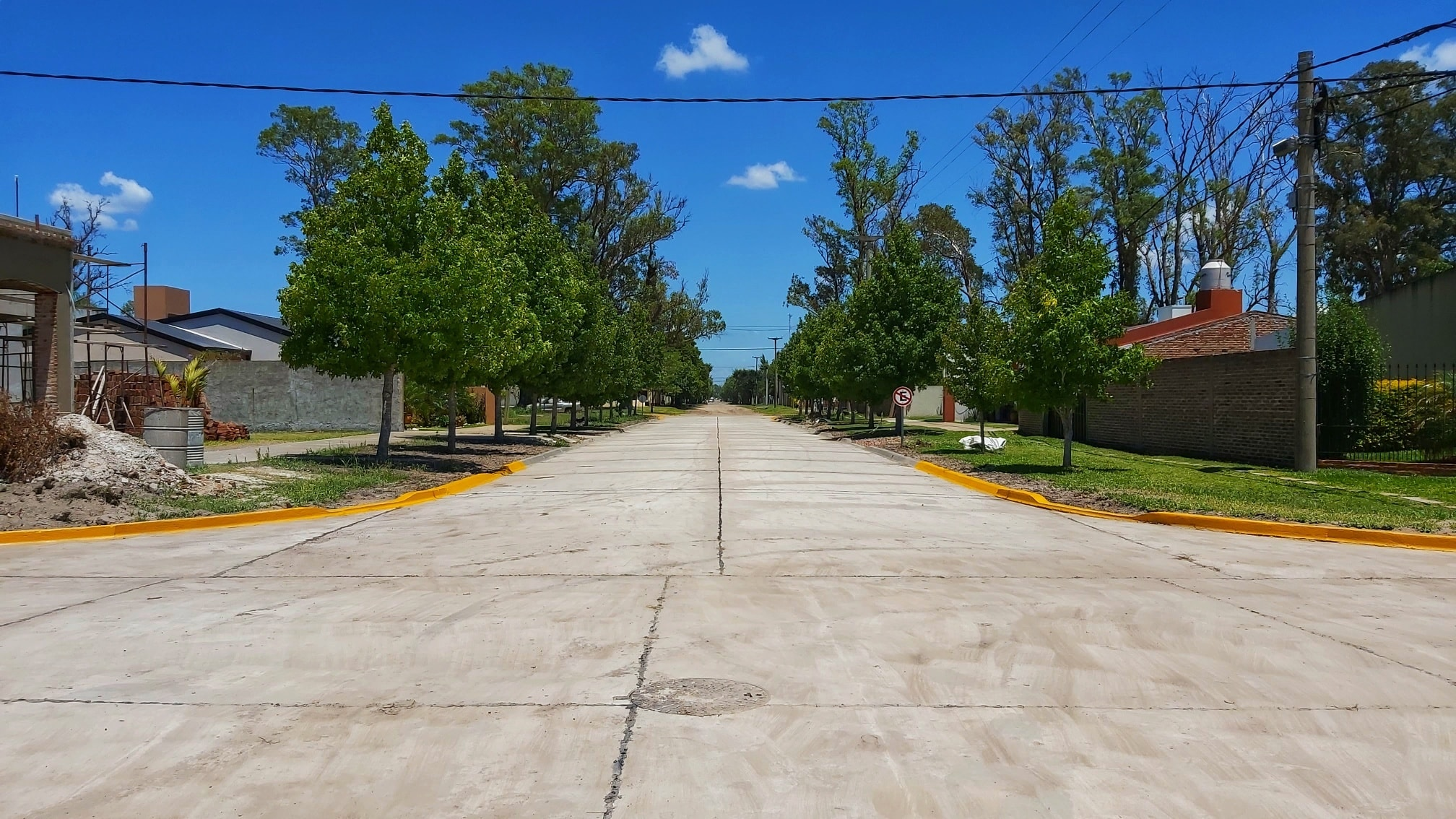 Malabrigo: se habilitó una nueva cuadra de pavimento