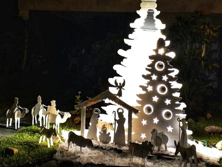 Se premiaron las vidrieras y luminarias navideñas más destacadas de Malabrigo