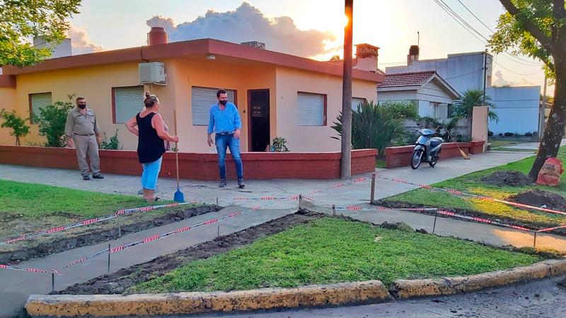 Malabrigo: continúa la construcción de rampas de acceso