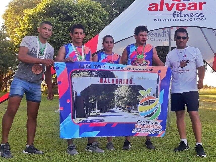 Destacada participación de atletas de Malabrigo