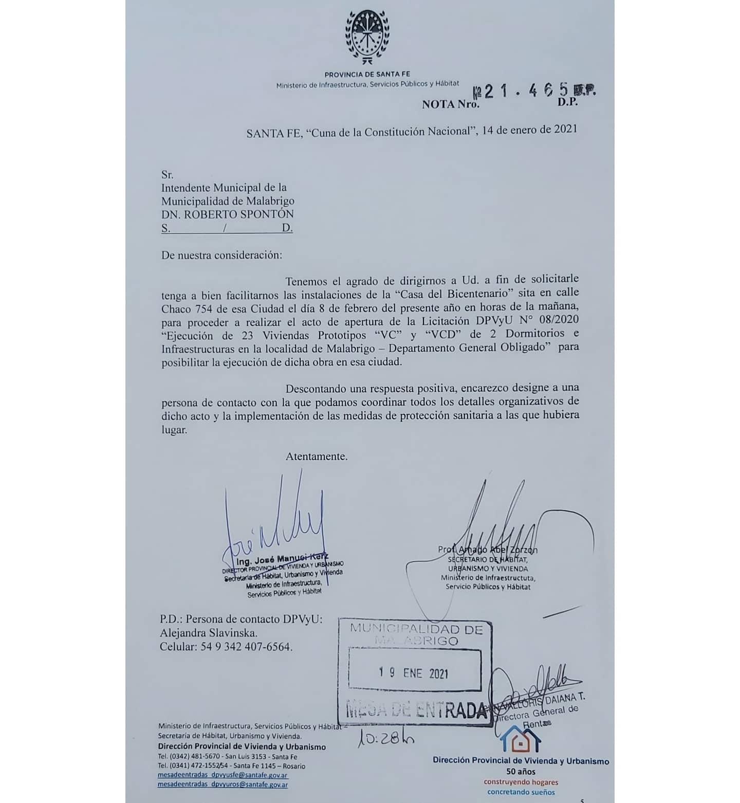 Se licitará la construcción de 23 viviendas en Malabrigo