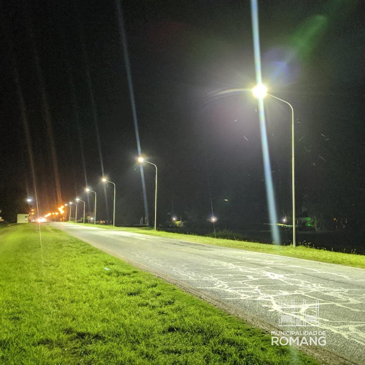 Iluminación Ruta 1