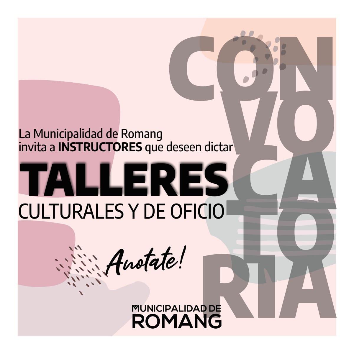 Romang: Talleres Culturales y de Oficio