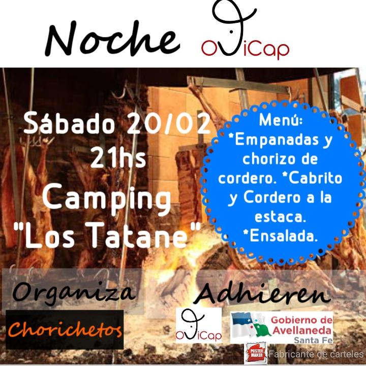 Noche Ovicap en el Camping Los Tatané