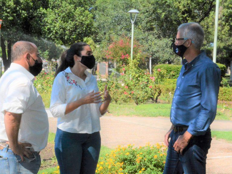 Espacios verdes: Avellaneda comprometida con la calidad de vida de sus vecinos