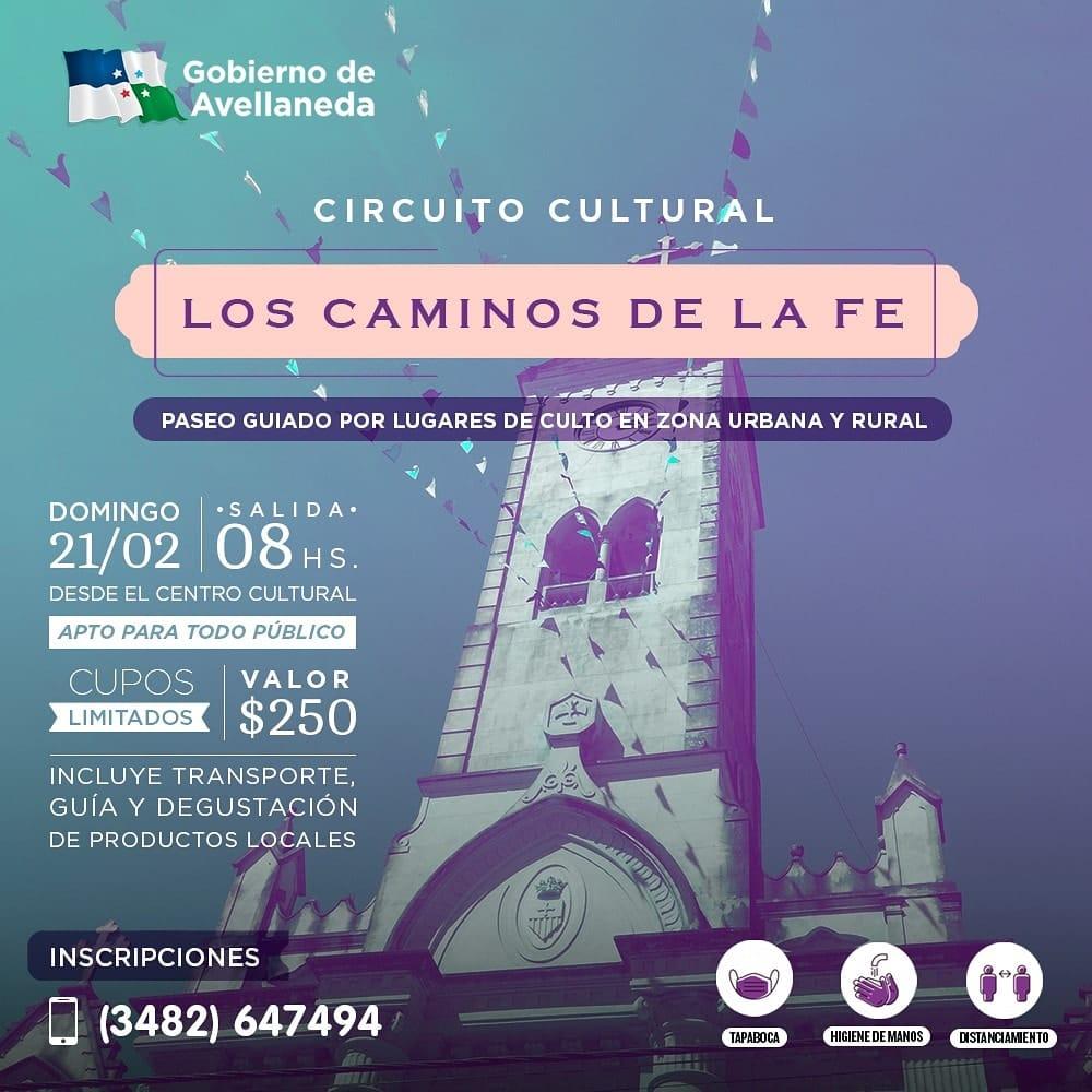 Se viene una nueva edición del Circuito Cultural Los Caminos de la Fe
