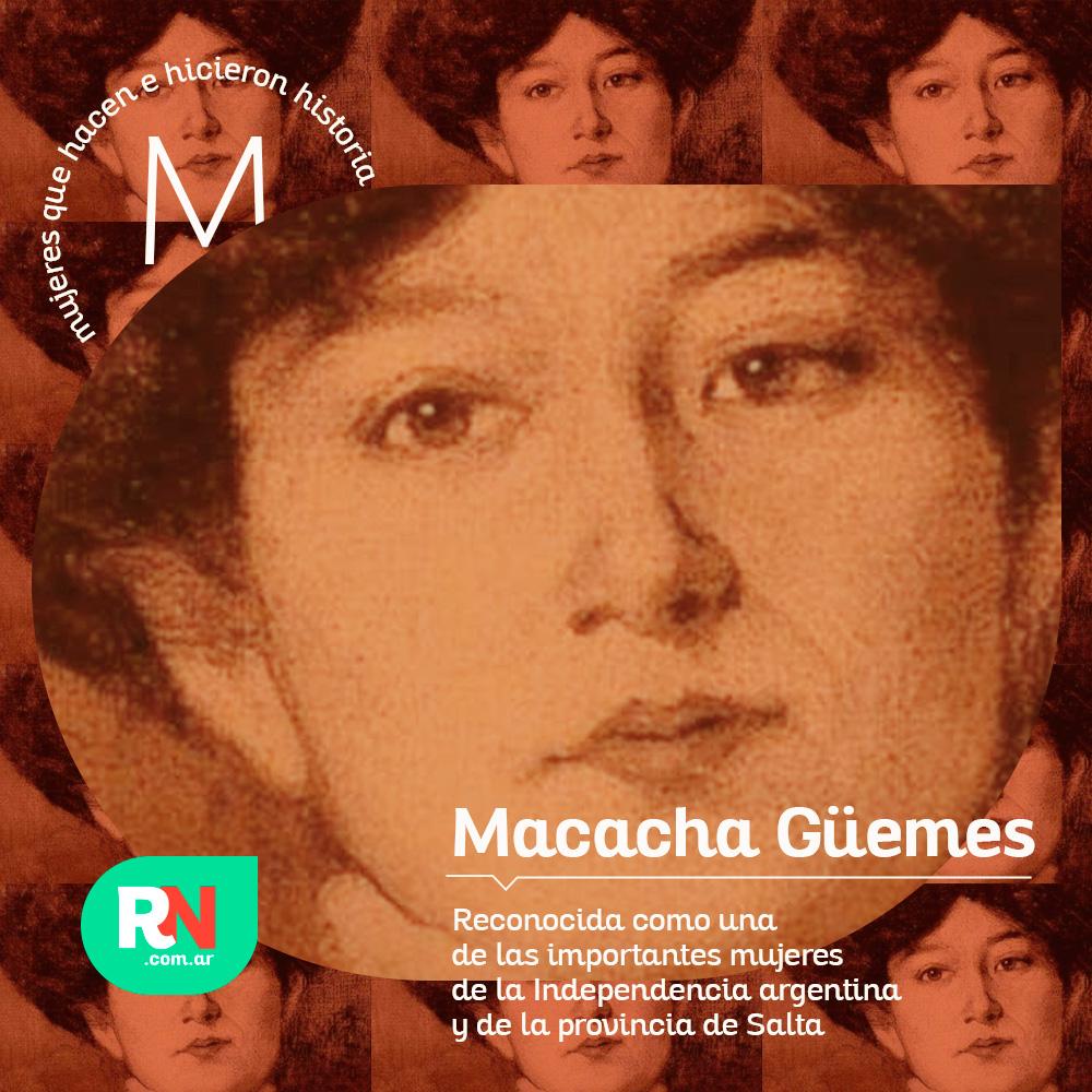 Mujeres que hacen e hicieron historia: Macacha Güemes