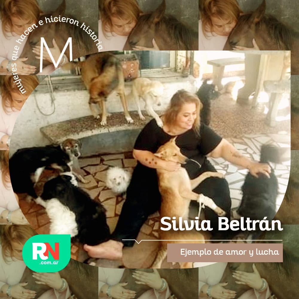Mujeres que hacen e hicieron historia: Silvia Beltran