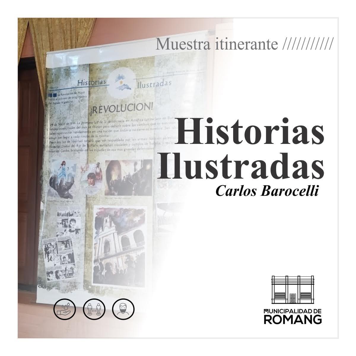 "Muestra itinerante ""Historias Ilustradas"""