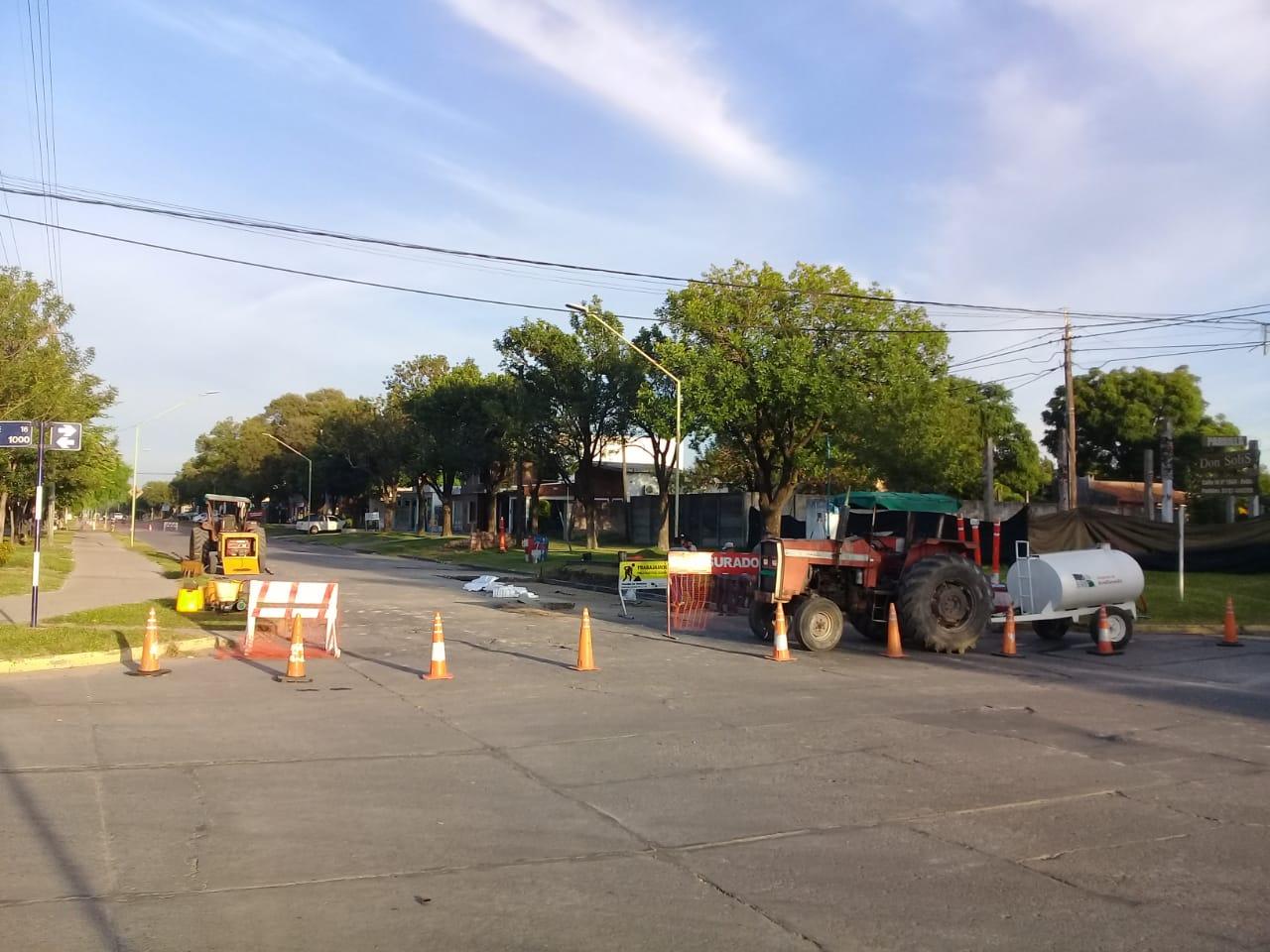 Avellaneda: permanece clausurada Calle 21 entre 14 y 16