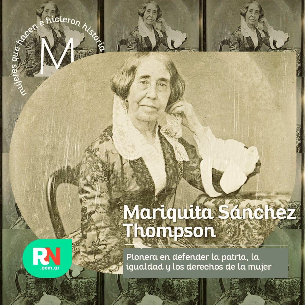 Mujeres que hacen e hicieron historia: Mariquita Sánchez de Thompson