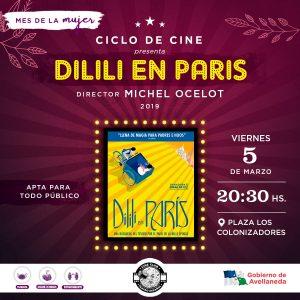 Mes de la Mujer: comienza el Ciclo de Cine en la Plaza de los Colonizadores
