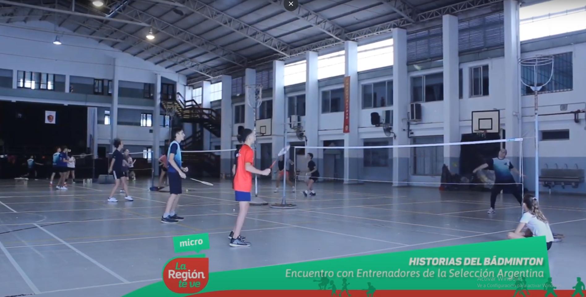 Se realizó un campus de entrenamiento de Badminton