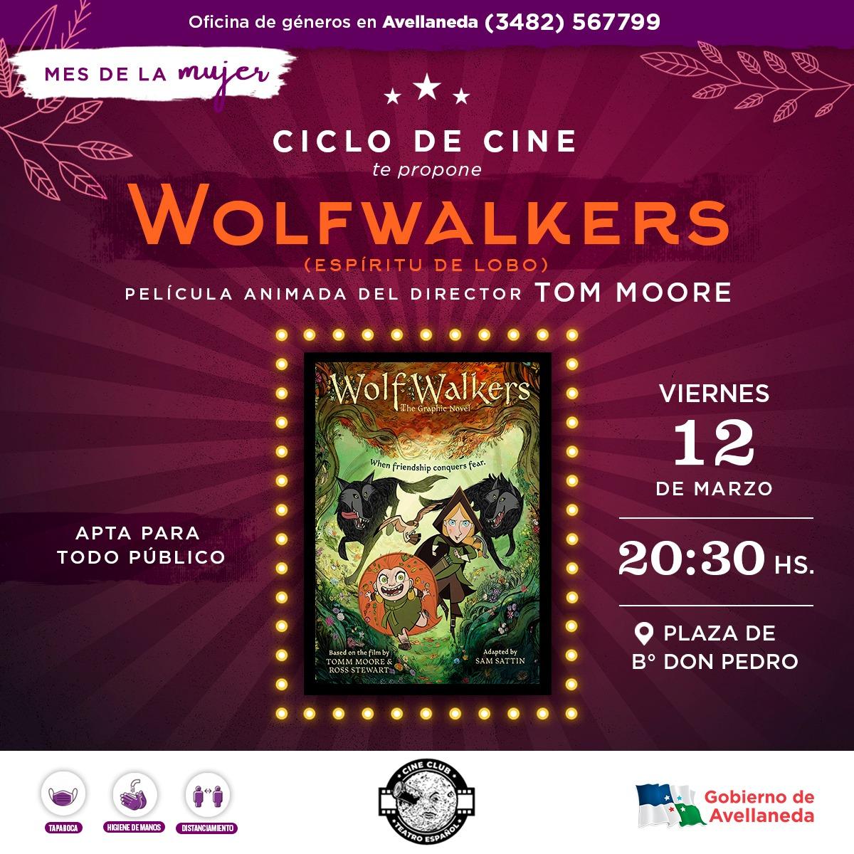 """Mes de la Mujer: """"Espiritu de Lobo"""" llega al ciclo de Cine al Aire Libre"""