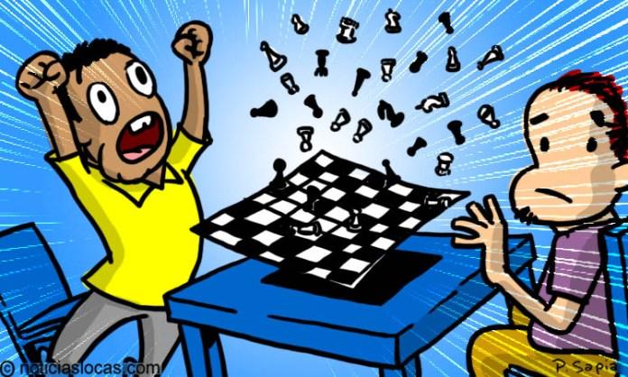 Bate récord Guinness armando un tablero de ajedrez en 30 segundos