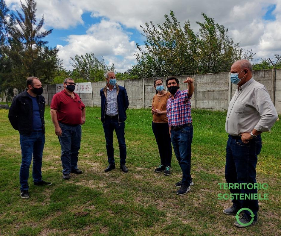 Avellaneda fortalece el territorio sostenible, mediante alianza generada con la empresa Worms y el trabajo colaborativo con la cooperativa de transportistas