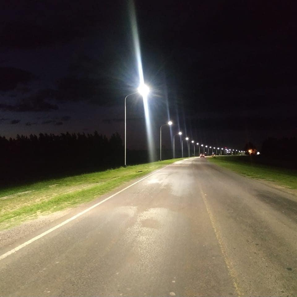 Romang: Iluminación pública