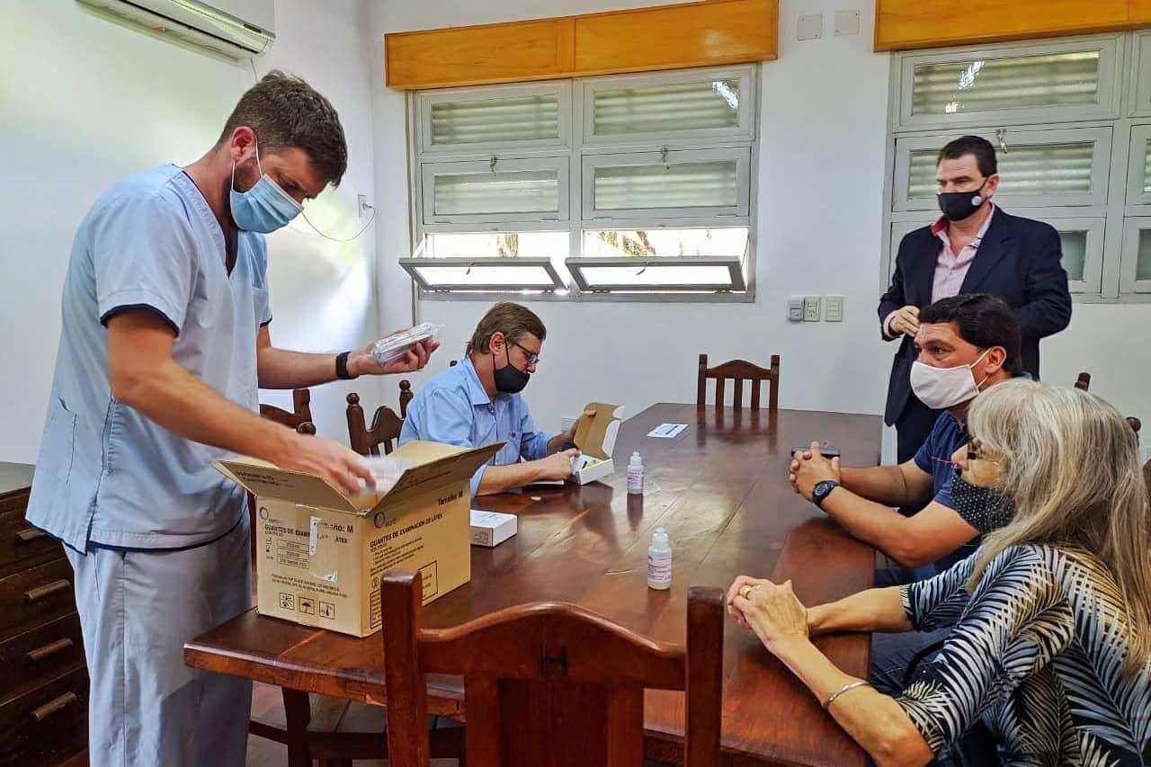 Malabrigo: el Municipio entregó insumos al Hospital local