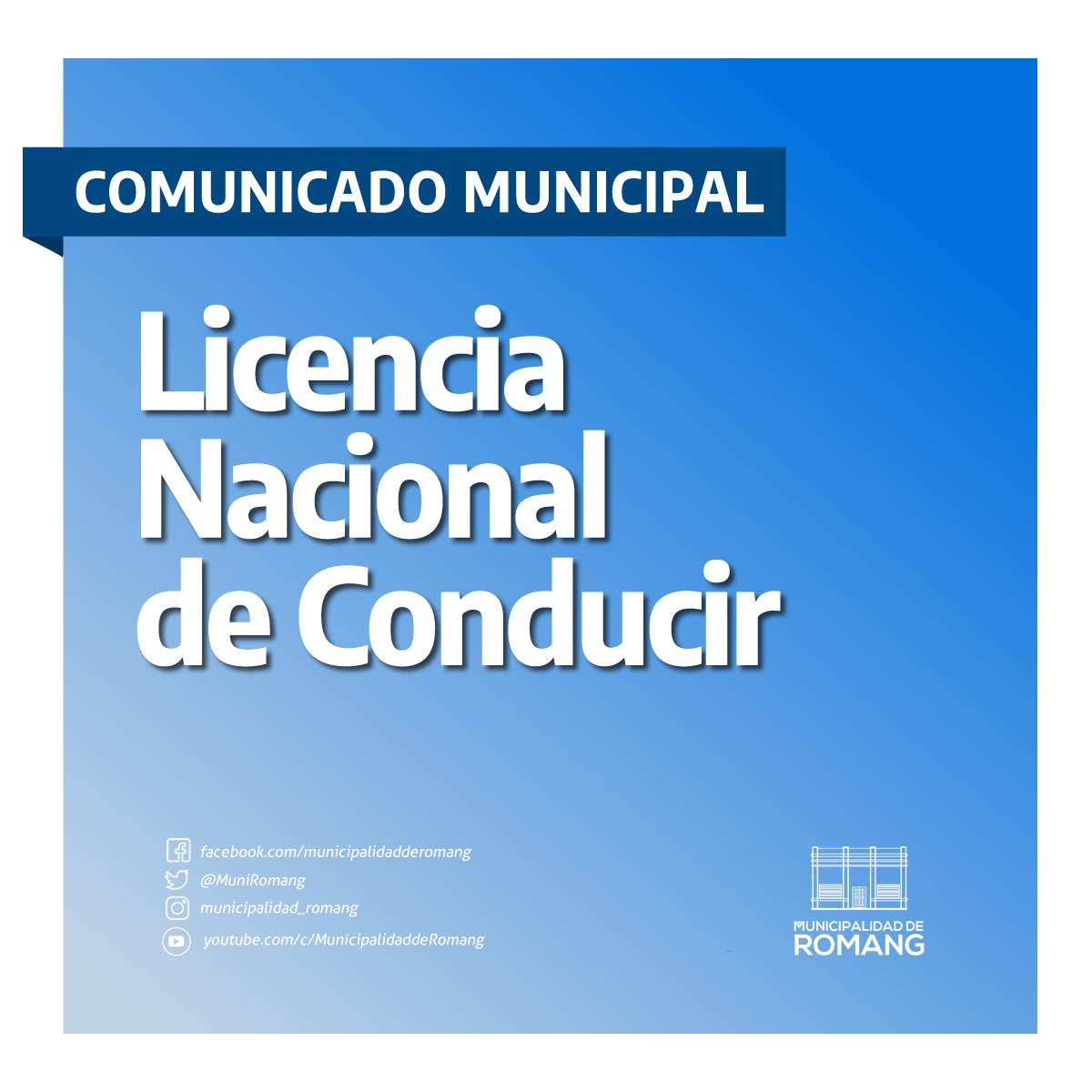 Romang: Licencia de Conducir