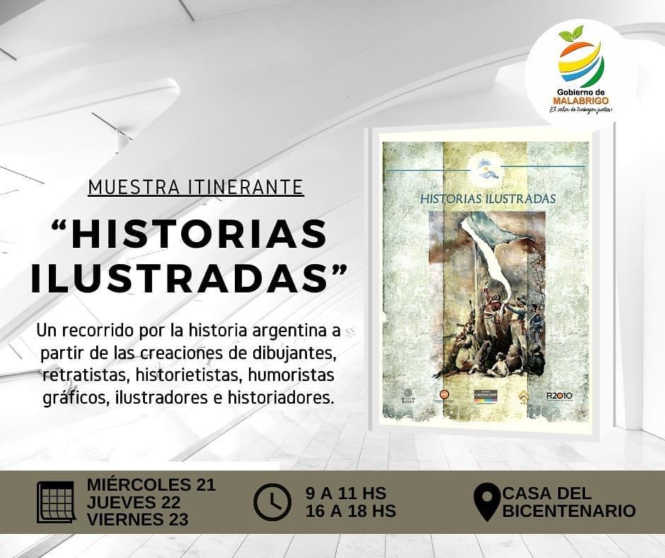 "Malabrigo: Muestra Itinerante – ""Historias Ilustradas"""